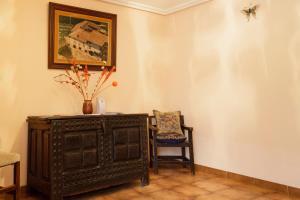 Uma área de estar em Casa Legaria