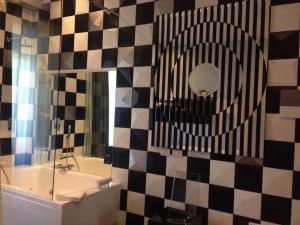 Salle de bains dans l'établissement iRooms Central Station