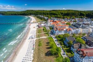 Blick auf Hotel Villa Schwanebeck aus der Vogelperspektive