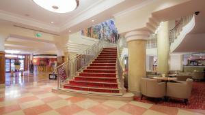 The lobby or reception area at Hilton London Paddington
