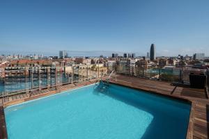 The swimming pool at or near Catalonia Atenas