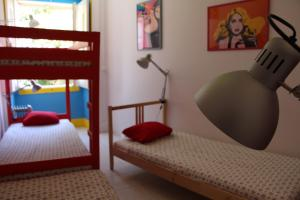 A bunk bed or bunk beds in a room at Arty Hostel Lisbon