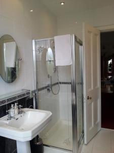 A bathroom at Moorlands