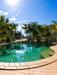 The swimming pool at or near Hastings Cove Holiday Apartments