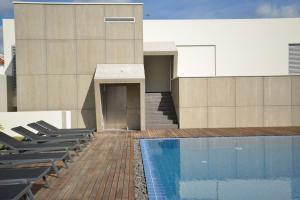 The swimming pool at or close to Charming Blue