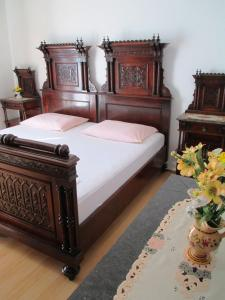 A bed or beds in a room at Villa Barbara