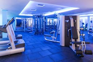 The fitness center and/or fitness facilities at Novotel Sao Paulo Jaragua Conventions