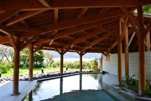 The swimming pool at or near The Prince Hakone Lake Ashinoko