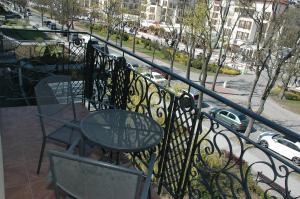 Balkon lub taras w obiekcie Apartament Przy Promenadzie