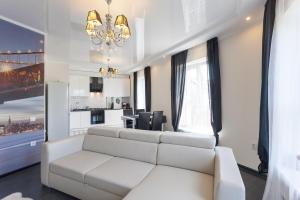 Гостиная зона в Apartment Apart Residence