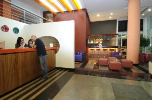 The lobby or reception area at Suite Hotel Chrome - Beirut