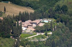 A bird's-eye view of Hotel La Collegiata