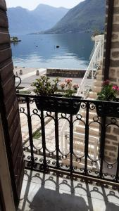 A balcony or terrace at Apartment Stern