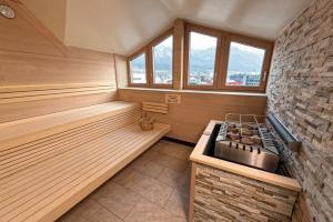 Küche/Küchenzeile in der Unterkunft Alphotel Innsbruck