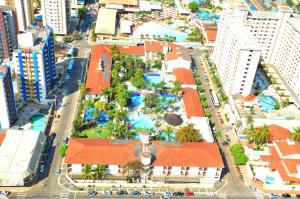 A bird's-eye view of Hotel Prive