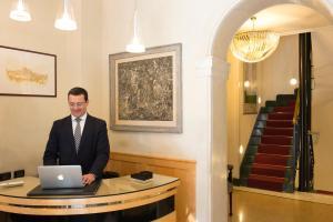 Lobby/Rezeption in der Unterkunft Hotel Gregoriana