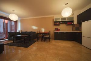 A kitchen or kitchenette at Apartment Anker