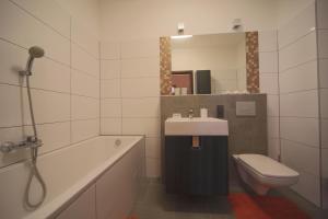 A bathroom at Apartment Anker