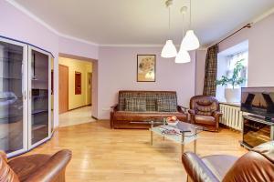 Гостиная зона в Welcome Home Apartments Nevskiy 54