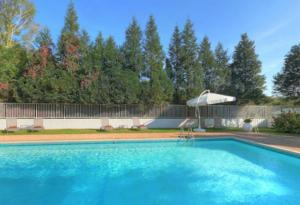 The swimming pool at or near La Chaumiere