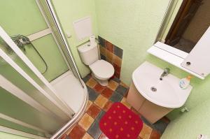 Ванная комната в Апартаменты на ул. Казанская, д. 9