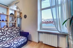 Гостиная зона в Apartment on Efimova 1-2