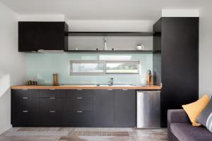 A kitchen or kitchenette at Bimbadeen Phillip Island Farm Retreats