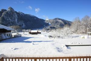 Ferienhaus Alpinissimo during the winter