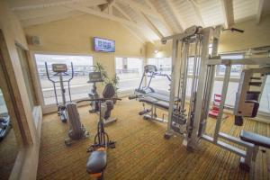 The fitness center and/or fitness facilities at Hotel Patagonia