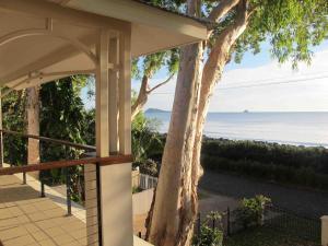 A balcony or terrace at Seascape Luxury Beachfront House
