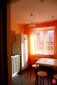 Кухня или мини-кухня в Хостел Матрёшка