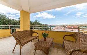 A balcony or terrace at Vilola