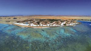 Een luchtfoto van Movenpick Resort El Quseir