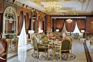 Um restaurante ou outro lugar para comer em Mövenpick Hotel City Star Jeddah