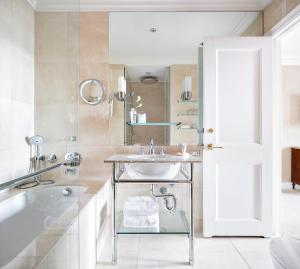 A bathroom at The Pierre, A Taj Hotel, New York