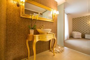 A bathroom at Restauracja Joanna