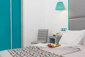 A bed or beds in a room at Sweet Pop