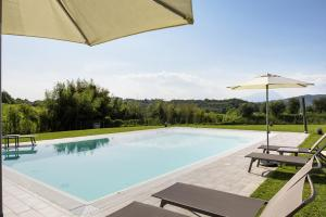 The swimming pool at or close to Rovertondo