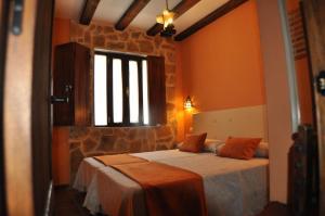 Cama o camas de una habitación en La Vieja Usanza de Gredos