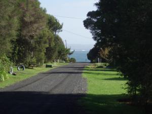 A garden outside Phillip Island walk to beach