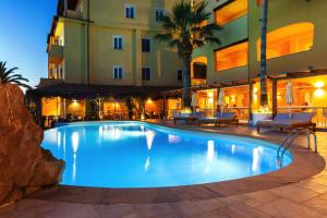 The swimming pool at or near Hotel Villa Margherita