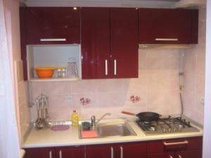 A kitchen or kitchenette at Anastasia