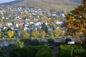 Een luchtfoto van Ferienhaus-Sternenberg