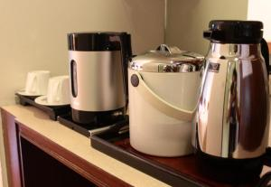 Coffee and tea-making facilities at Sirin Hotel Hua Hin
