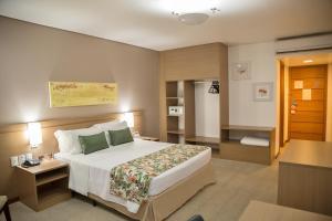 Cama o camas de una habitación en Blue Tree Premium Manaus