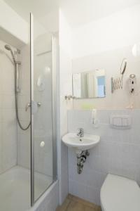 Kupatilo u objektu Hotel Pankow