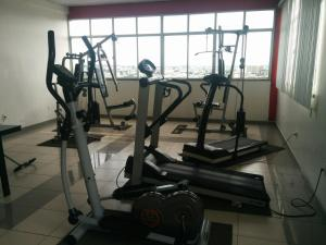The fitness center and/or fitness facilities at Hotel Slaass