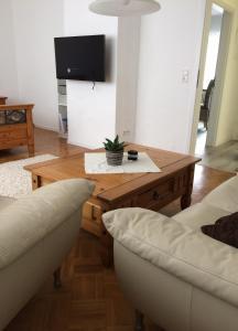 TV/Unterhaltungsangebot in der Unterkunft Apartment Burgblick