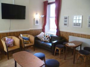 A seating area at Number Twenty-Five Guesthouse