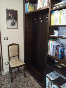 A seating area at B&B A Casa Di Nonna